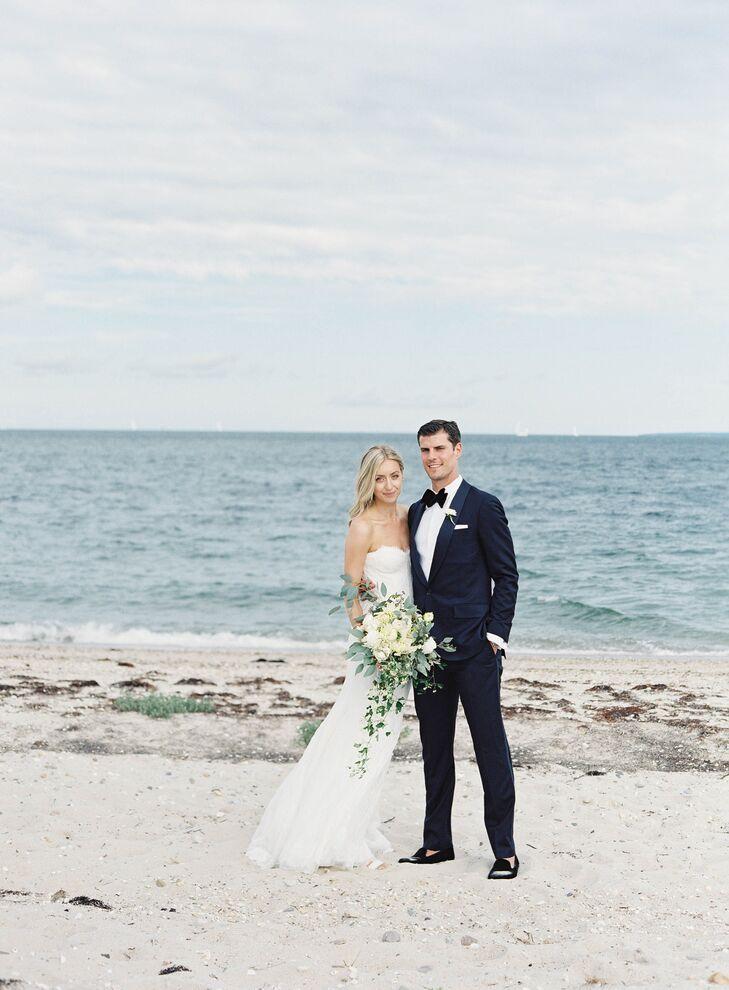 Ram island farm wedding dress