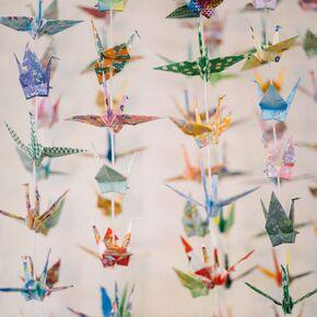 1000 Hand Folded Origami Cranes