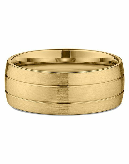 Ritani Men's Banded Satin-Finish Wedding Ring in 18kt Yellow Gold Wedding Ring photo