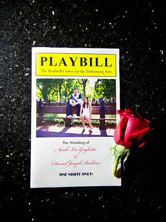 Playbill ceremony program