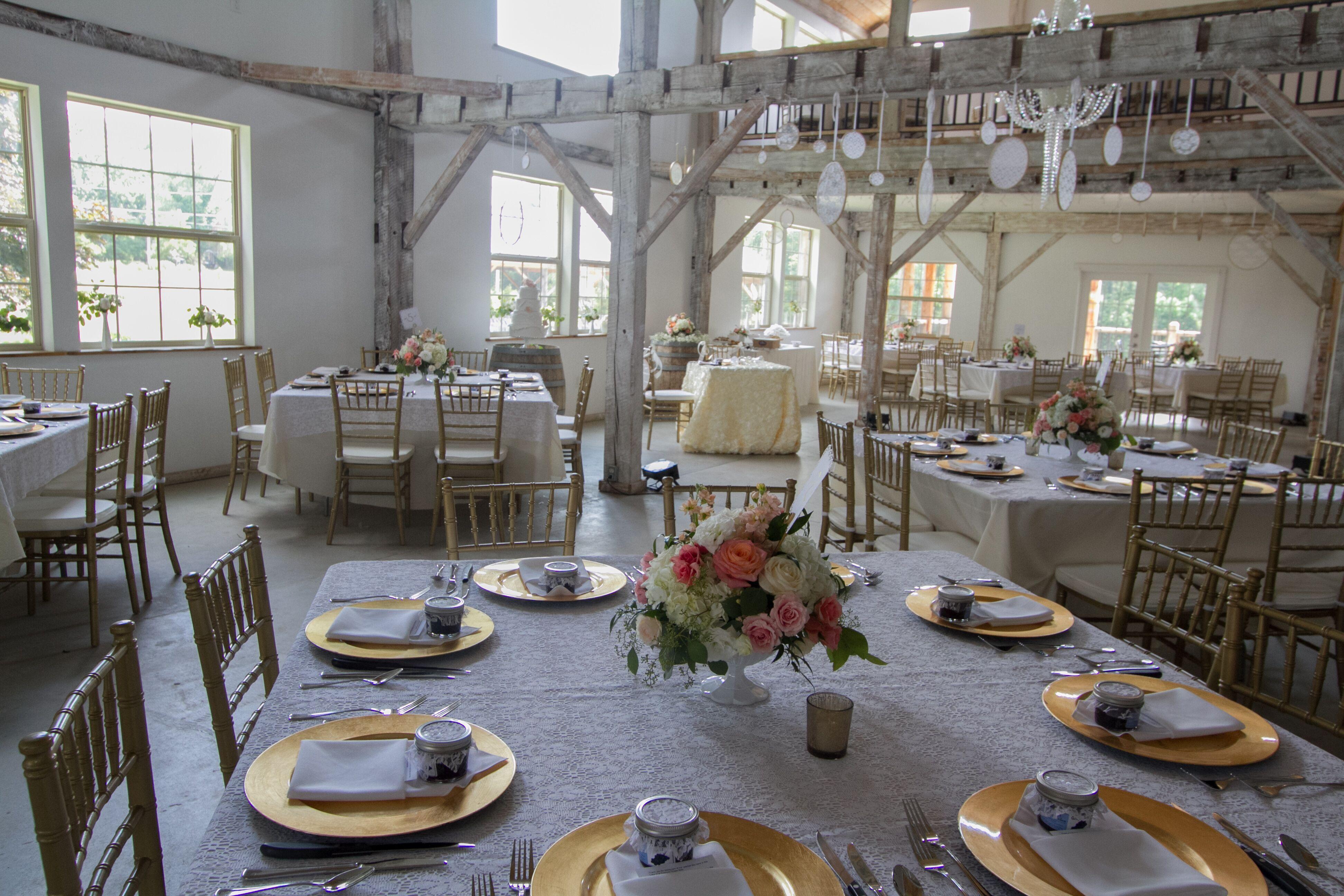 Quincy Cellars Winery Barn Reception