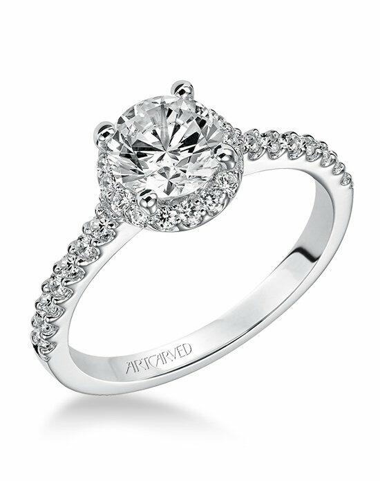 ArtCarved 31-V324ERW Engagement Ring photo