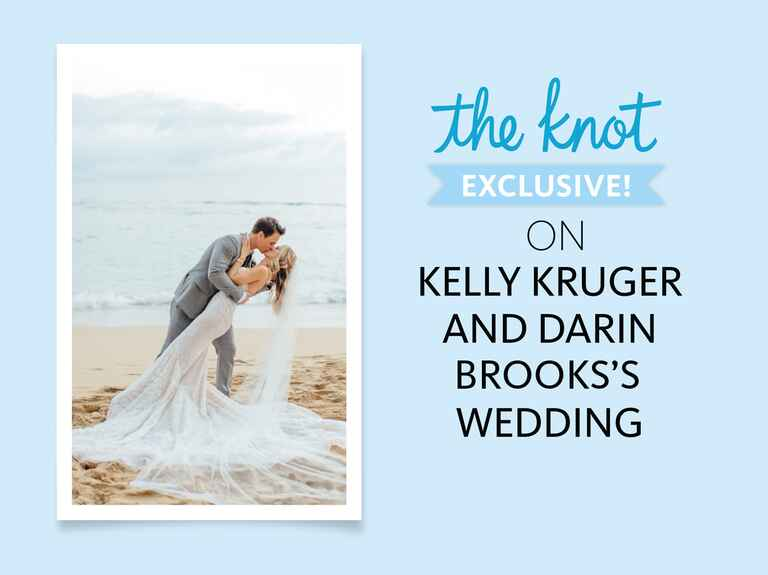 The Knot exclusive on Kelly Kruger and Darin Brooks's wedding
