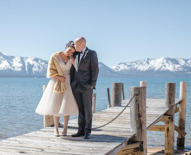A Natural Rustic Winter Wedding At Edgewood Tahoe In Stateline Nevada