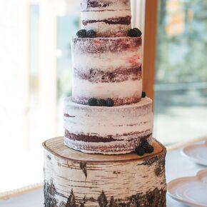Winter wedding cakes diy red velvet naked wedding cake junglespirit Images