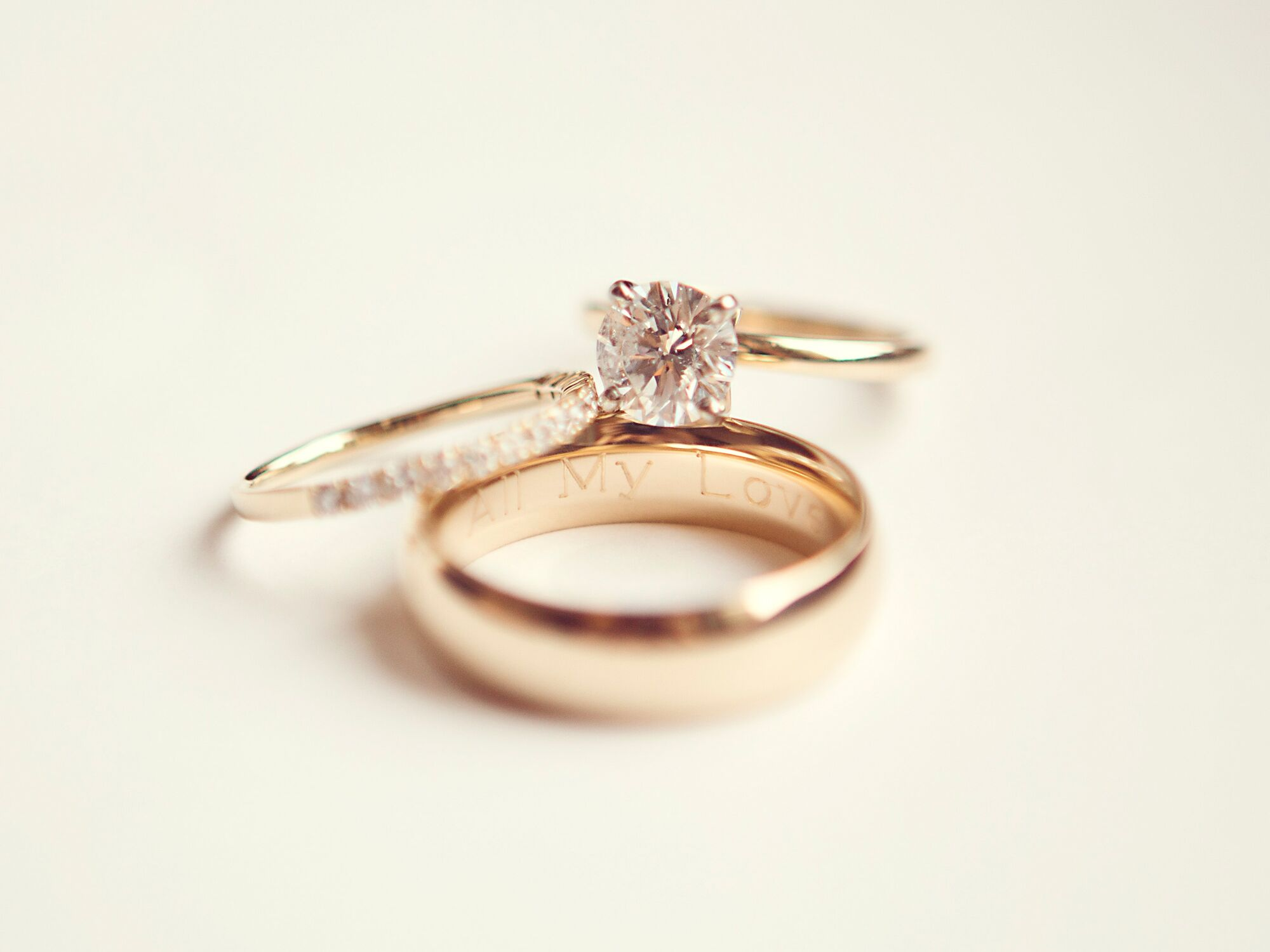 caring for your wedding rings