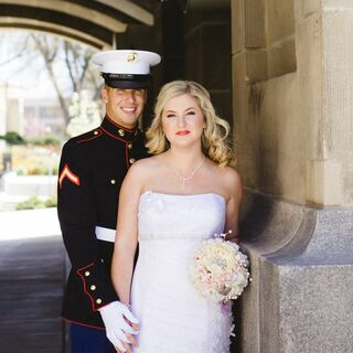 A 1920s-Inspired Military Wedding in Boise