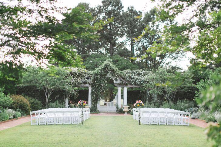 A Sophisticated Flower Filled Wedding At Daniel Stowe Botanical Gardens In Belmont North Carolina