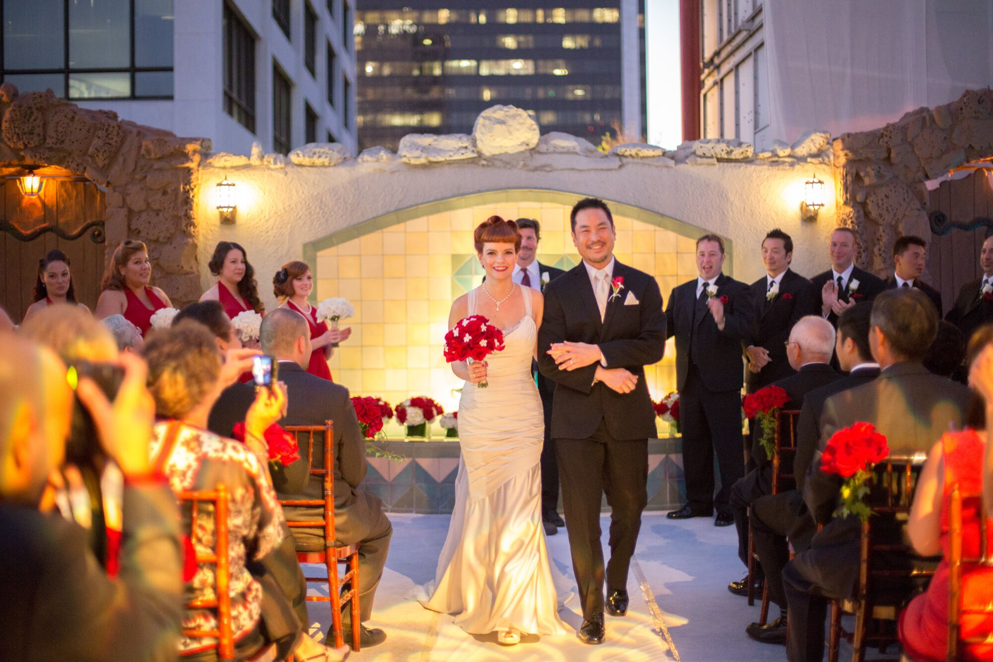 A Vintage-Inspired Wedding At Oviatt Penthouse In Los