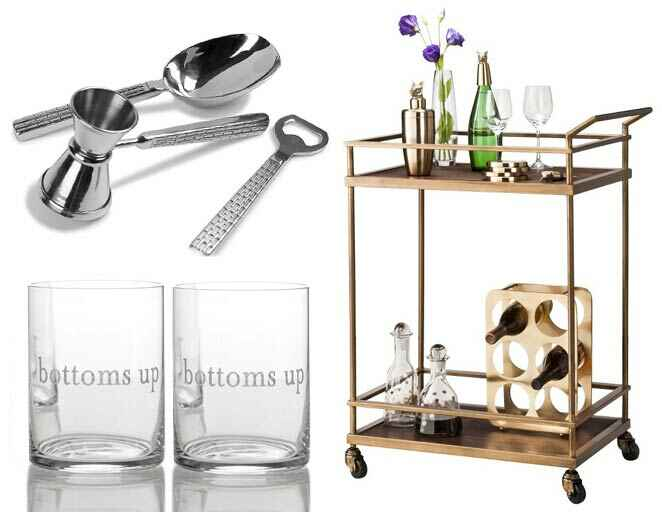 Cocktail and barware registry ideas
