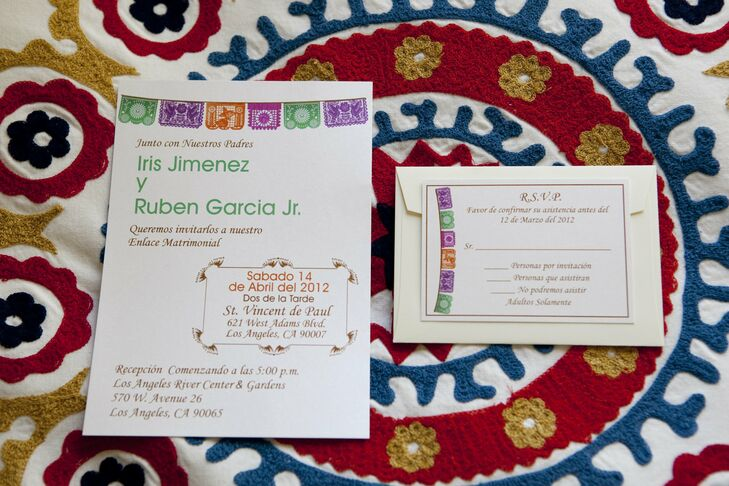 Los Angeles Wedding Invitations: A Los Angeles River Center And Gardens Wedding In Los