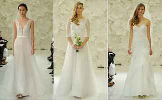 Watters Wedding Dresses and Bridesmaid Dresses Spring 2015 | Kurt Wilberding | blog.theknot.com