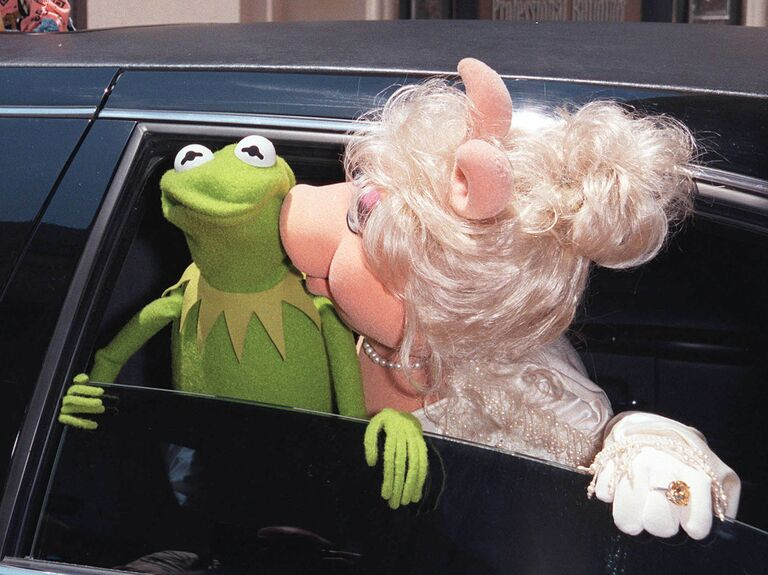 Kermit and Piggy