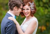 To say Lisa Anchin (31 and a children's book illustrator) and Ezra Selove's (31 and a budget analyst and musician) wedding was one of a kind would be