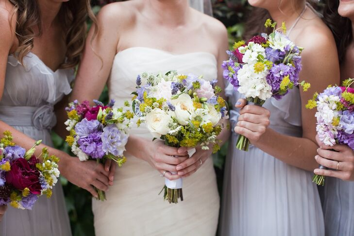 Wildflower Bridal Bouquets