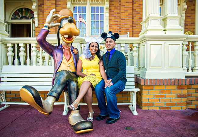 Disney World Engagement Sesssion | Photographick Studios | From: blog.theknot.com