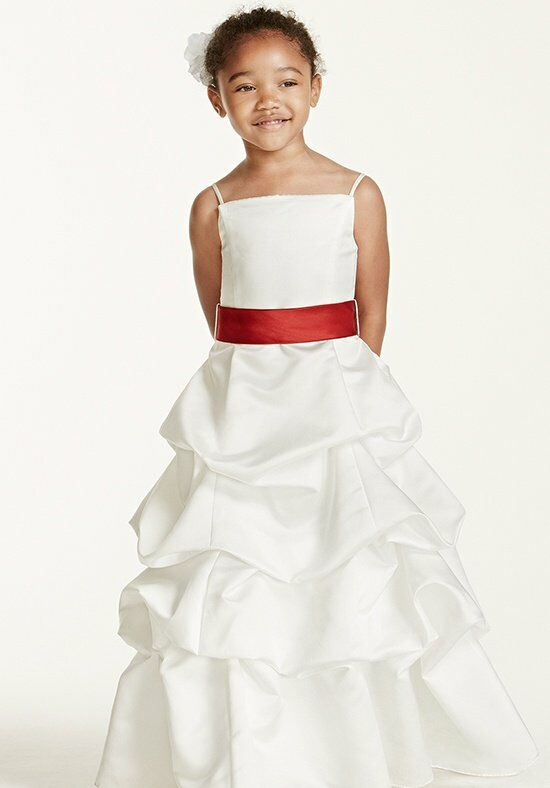 David 39 s bridal juniors fg9309 flower girl dress the knot for David bridal rental wedding dresses