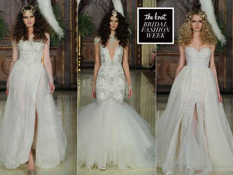 Galia Lahav Spring 2016 wedding dresses from Bridal Fashion Week