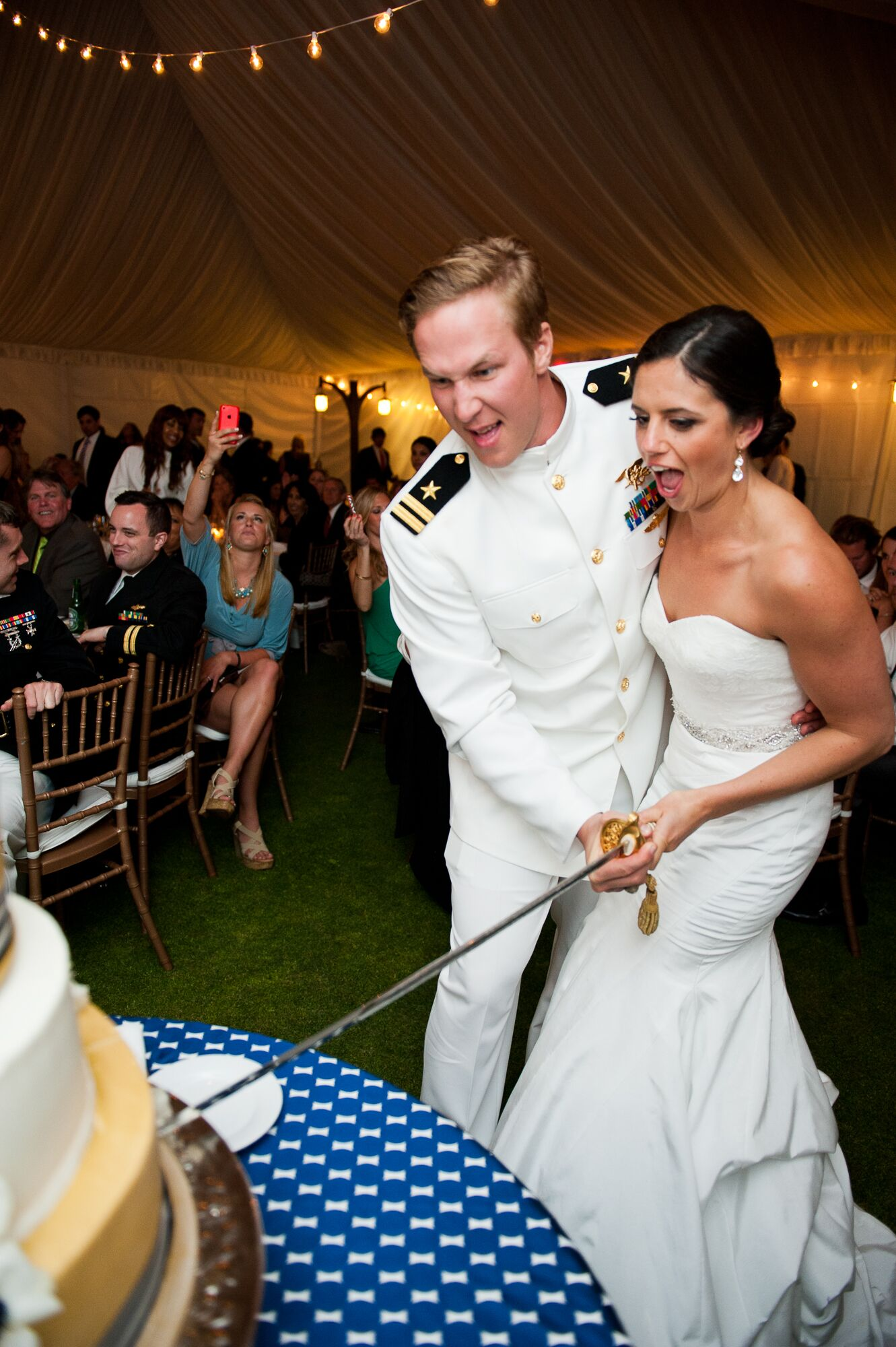 cutting wedding cake with sword cake cutting with sword 13304