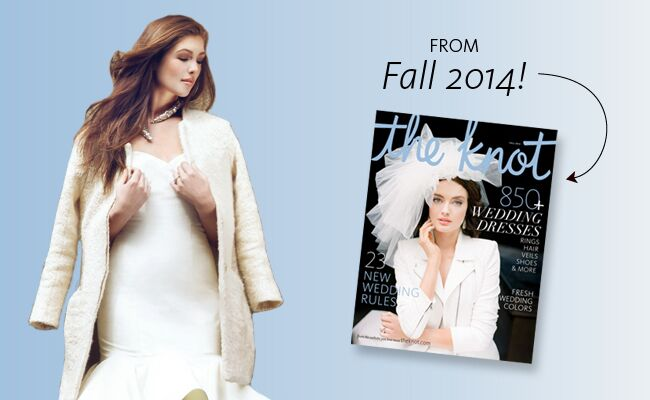 The Knot fall weddings magazine