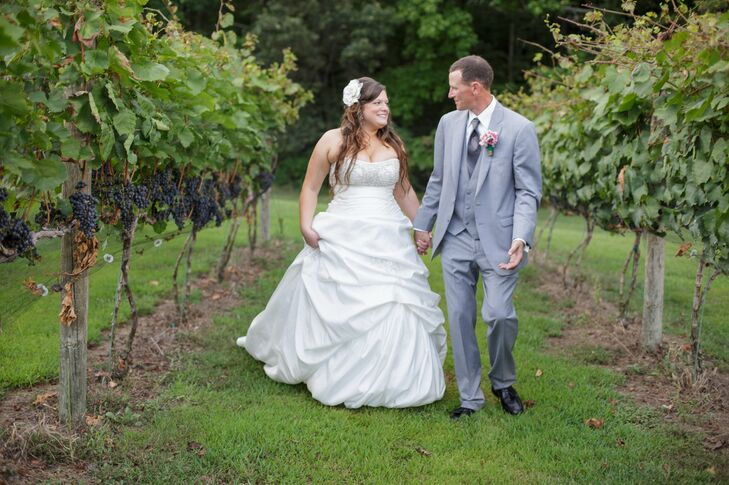 Backyard, Vineyard Wedding at a Private Residence in Bryantown