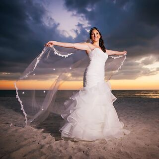 Beach weddings beach wedding ideas real beach wedding dresses junglespirit Image collections