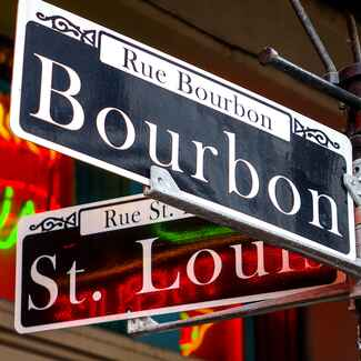 Bourbon Street New Orleans Bachelorette Party