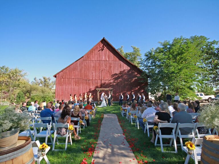 Hidden Springs Community Barn Idaho Wedding Venue