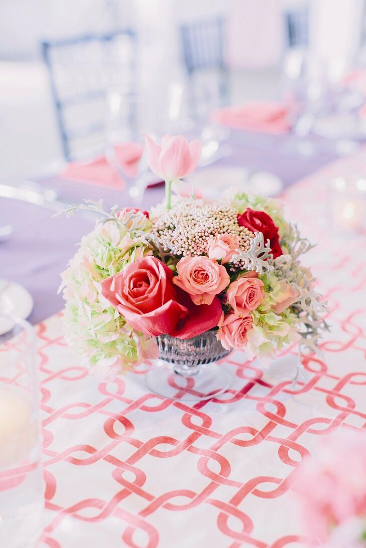 Small Pink Centerpieces