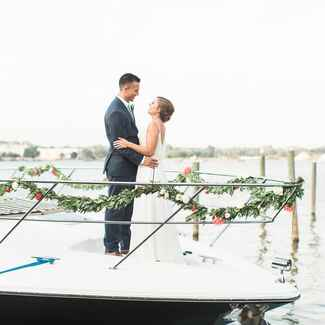 waterfront Michigan wedding
