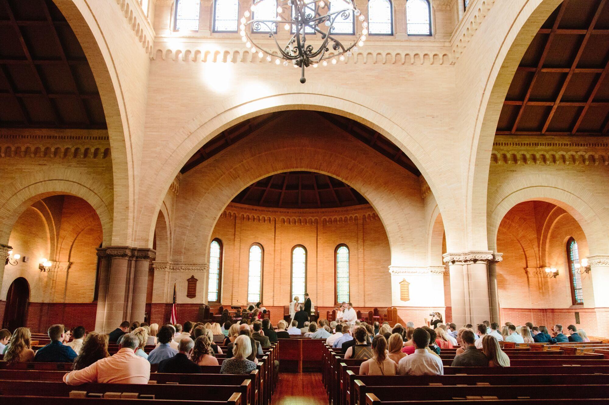 Ceremony At Hampton University Memorial Chapel