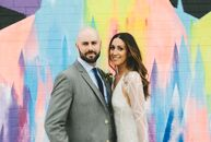 Embracing their love of beer, Amanda Markoya (30 and a makeup artist) and Charlie Anderson (33 and a cinematographer) threw a low-key, intimate weddin