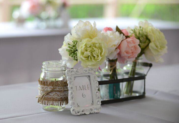 Mason Jar Vase Vintage Basket Fl Arrangement Middot Dress Up Milk Bottles With Gold Leaf Or Paint For Simple Diy Vases 35