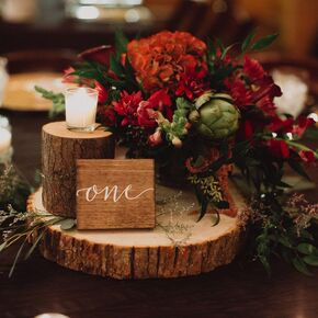 Winter Wedding Centerpieces