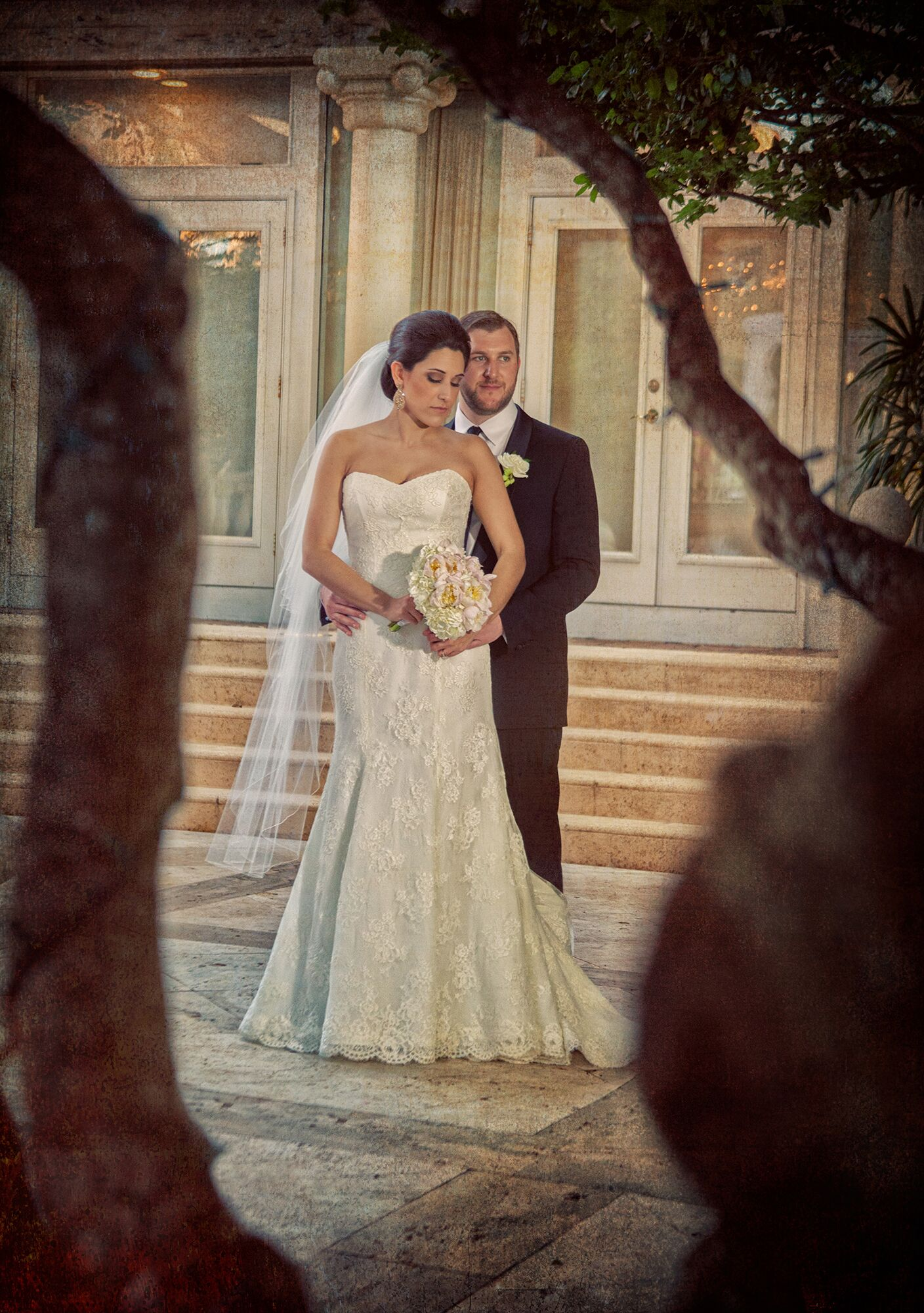 A traditional jewish wedding at the addison in boca raton for Ancient jewish wedding dress