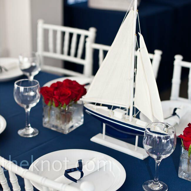 Nautical Wedding Centerpieces