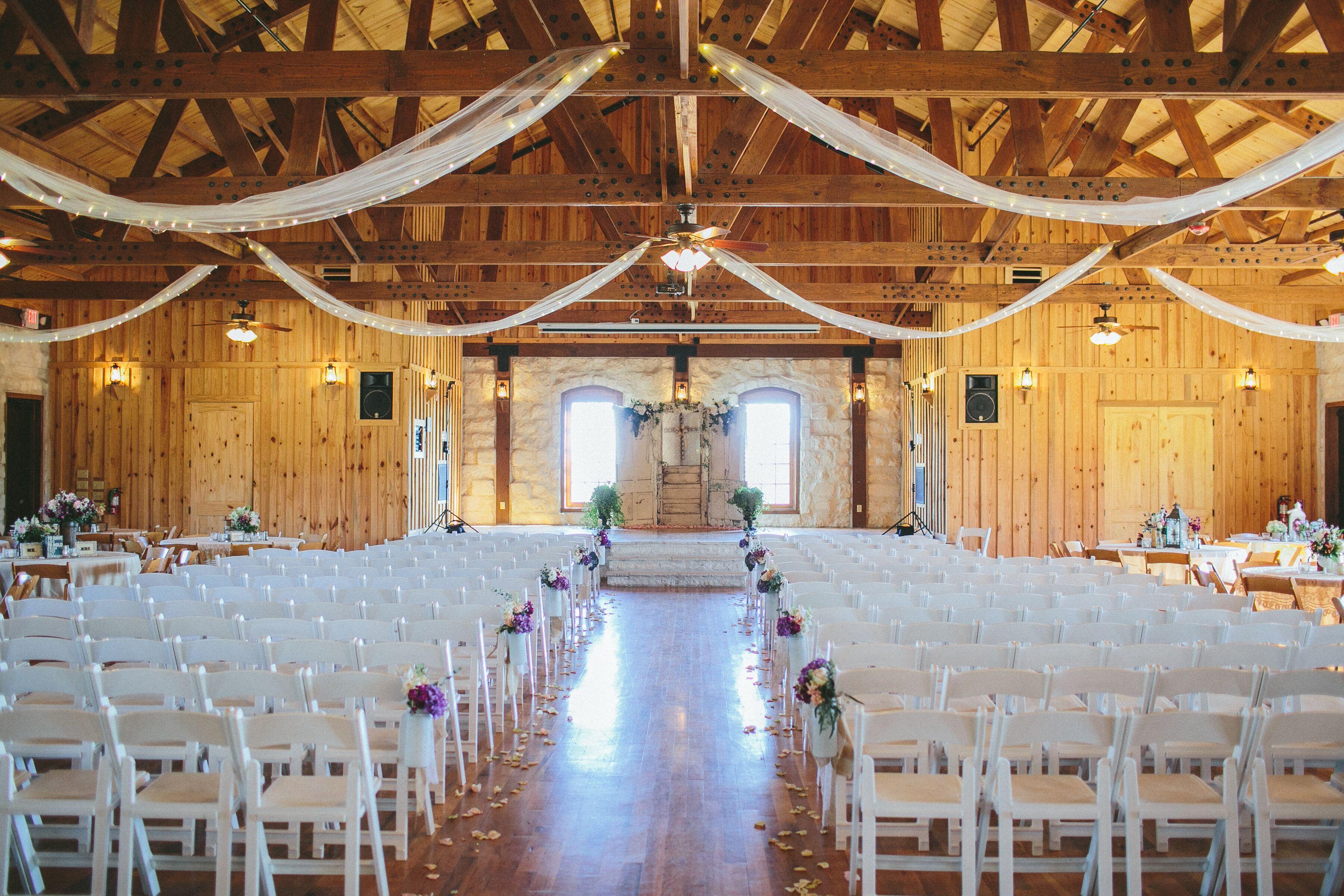 Rustic Texas Barn Ceremony Venue