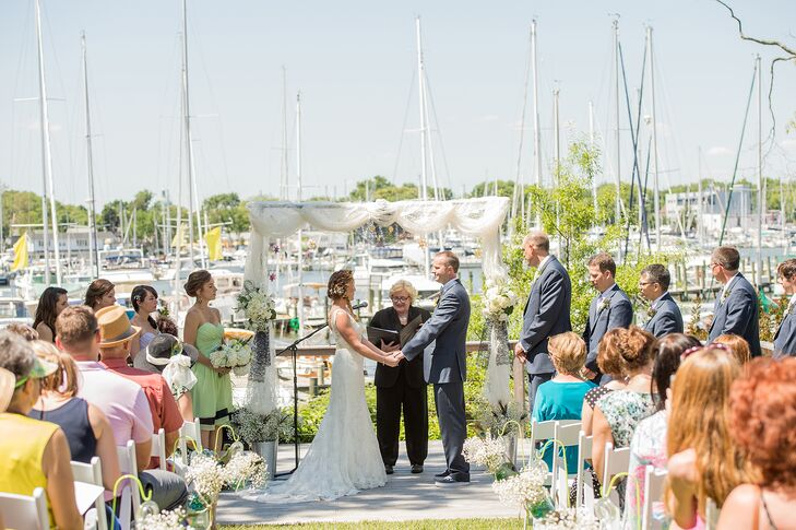 Waterside Ceremony in Annapolis, Maryland