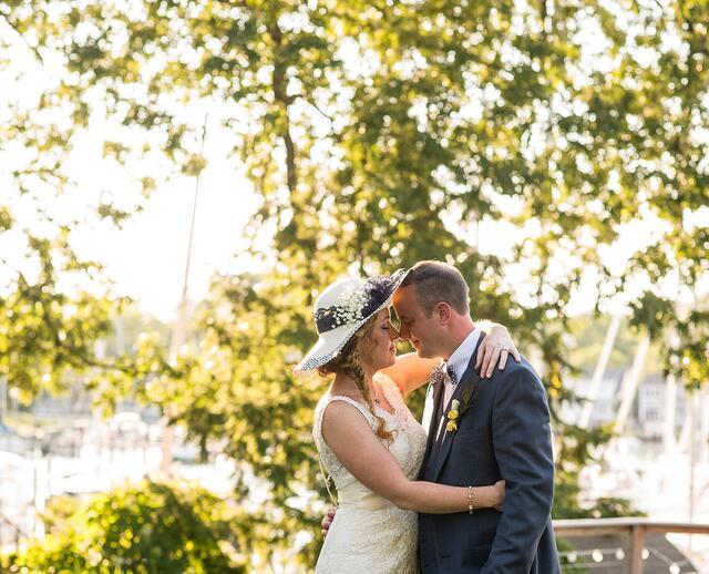 A Bohemian Nautical Wedding At Port Annapolis Marina In Maryland