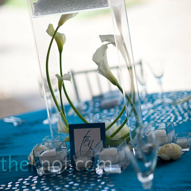 Floating Lily Centerpiece Ideas: Calla Lily Centerpieces