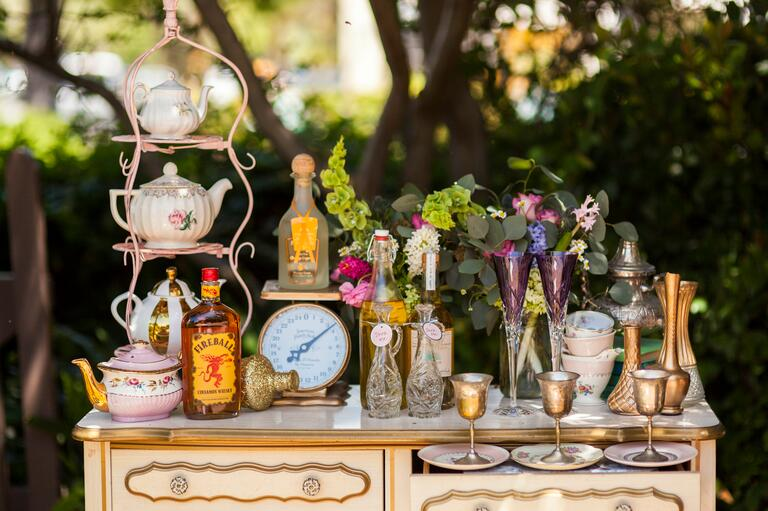 Alice In Wonderland-inspired cocktail bar