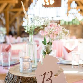 Diy wedding decorations accents rustic tablescape with michigan shaped table numbers junglespirit Choice Image
