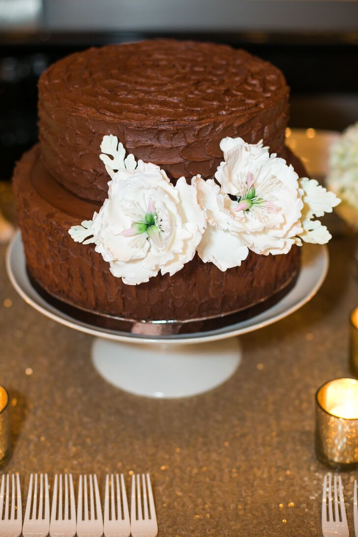 2 tier chocolate wedding cake recipe diy two tier chocolate wedding cake 10119