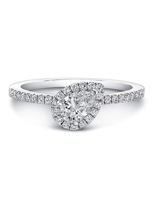 Forevermark Diamond Engagement Rings CENTER OF MY UNIVERSE™ HALO RING/FM30841 Engagement Ring photo