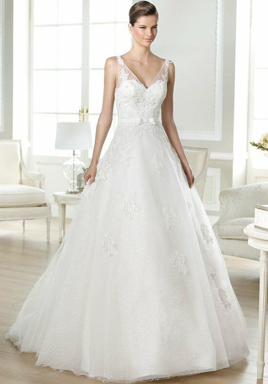 WHITE ONE Jaina Wedding Dress photo