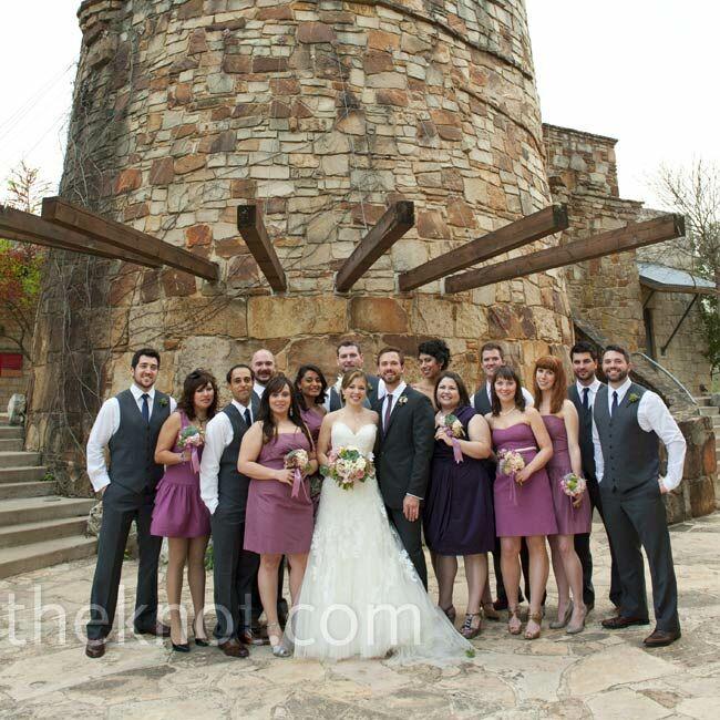 A Courtyard Wedding In Austin, TX