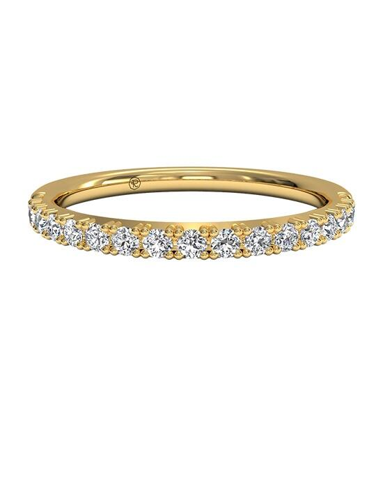 Ritani Women's French-Set Diamond Wedding Band in 18kt Yellow Gold (0.26 CTW) Wedding Ring photo
