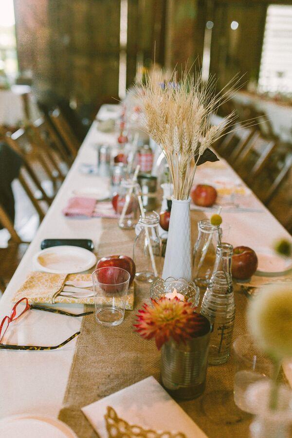 Diy Fall Wedding Decorations Accents