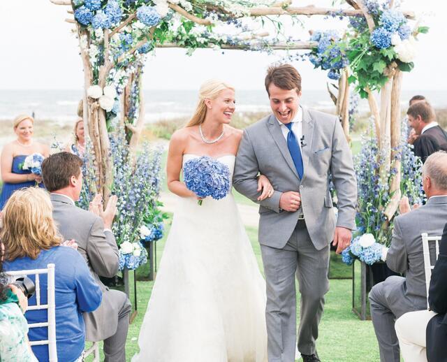 A Beach Chic Wedding At The Ocean Course In Kiawah Island South Carolina