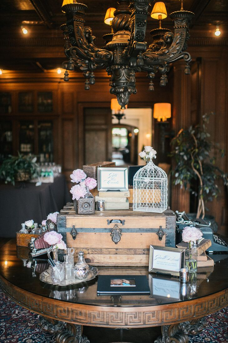Vintage Decor at Whimsical Mansion Celebration